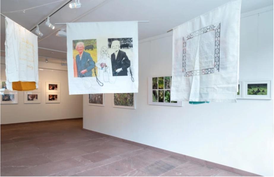 PETRA LINDENMEYER  Kunst Installation Kreisarchiv Ladenburg